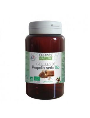 Propolis Verte Bio - Système immunitaire 120 gélules - Propos Nature