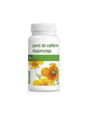 Pavot de Californie Eschscholtzia Bio - Stress et Sommeil 120 gélules - Purasana