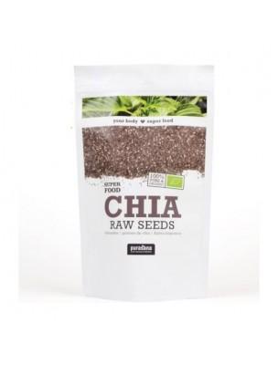 Graines de Chia Bio - Fibres et Nutriments SuperFoods 400g - Purasana