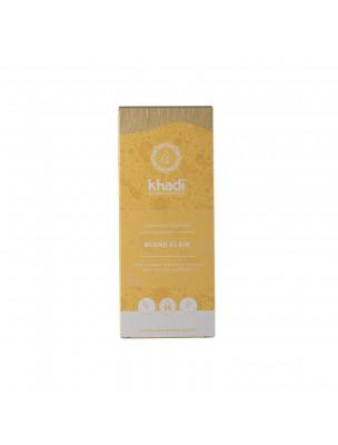 Coloration Blond clair - Henné et plantes ayurvédiques en poudre 100g - Khadi