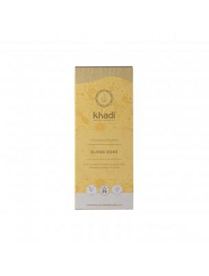 Coloration Blond doré - Henné et plantes ayurvédiques en poudre 100g - Khadi