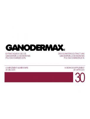 Ganodermax - Champignon Ganoderma (Reishi) pour l'immunité 30 gélules - Biophytarom