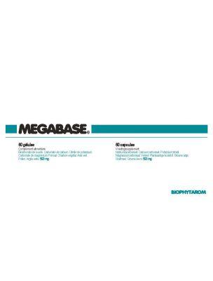 MegaBase - Equilibre acido-basique intestinal 60 gélules - Biophytarom