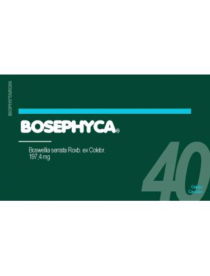 BosePhyca - Boswellia serrata 197,4 mg 40 gélules - Biophytarom