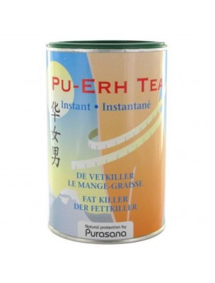 Pu-Erh Tea - Brûleur de graisses Instantané 200 g - Purasana