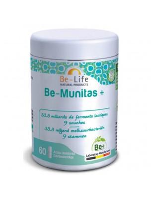 Be-Munitas Plus - Probiotiques 33,3 milliards de ferments lactiques 60...
