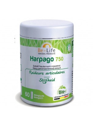 Harpago 750 Bio - Articulations et Souplesse 60 gélules - Be-Life