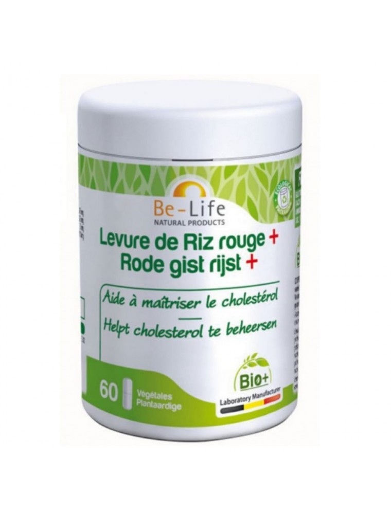 Levure de Riz rouge + Bio - Cholestérol 60 gélules - Be-Life