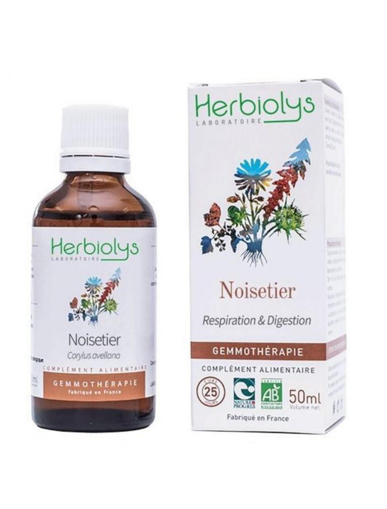 Noisetier Macérât de bourgeon Bio - Respiration & Digestion 50 ml - Herbiolys