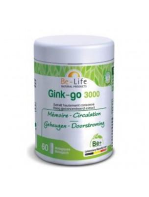 Image de Ginkgo 3000 - Mémoire et Circulation 60 gélules - Be-Life depuis ▷ Lécithine de soja - Mémoire et Cholestérol 90 gélules -