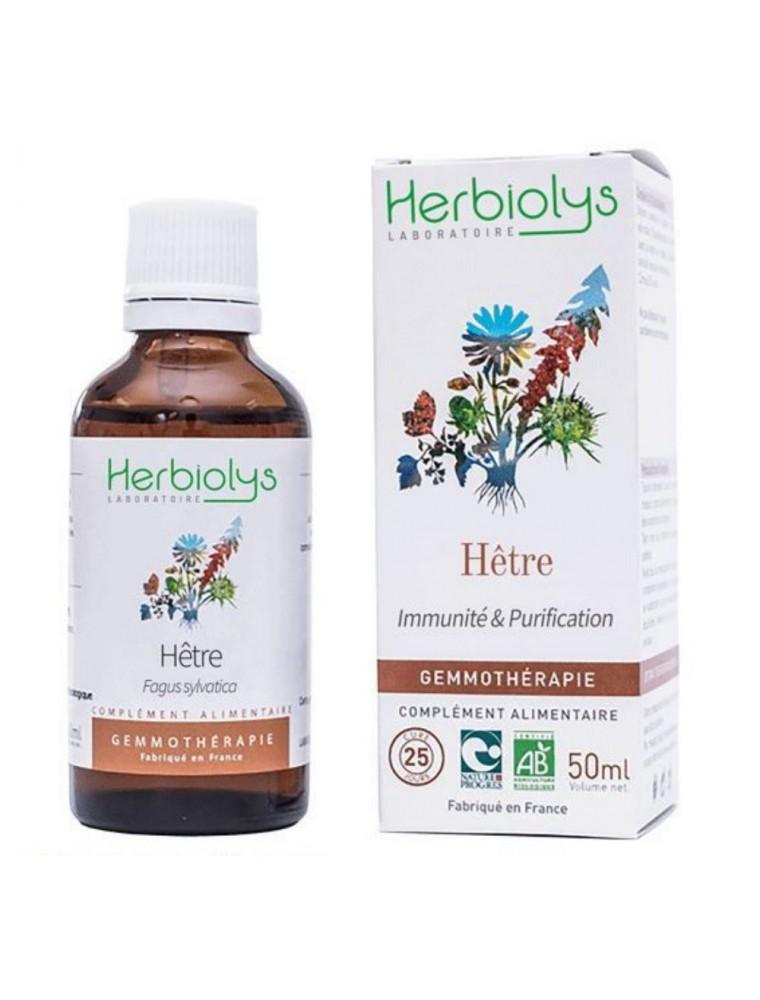 Hêtre Macérât de bourgeon Bio - Allergies & Immunité 50 ml - Herbiolys