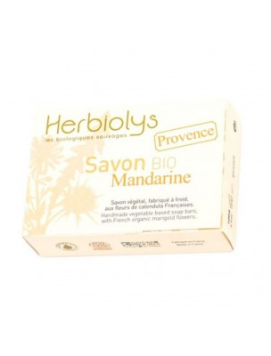 Savon Provence Mandarine Bio - Calendula 100G - Herbiolys