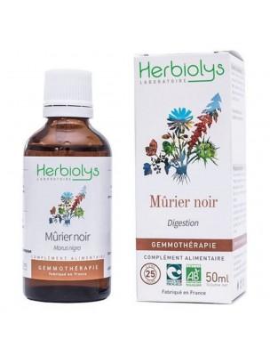Mûrier Noir Macérât de bourgeon Bio - Digestion 50 ml - Herbiolys