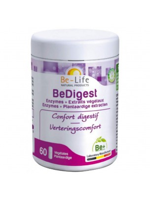 BeDigest - Digestion 60 gélules - Be-Life