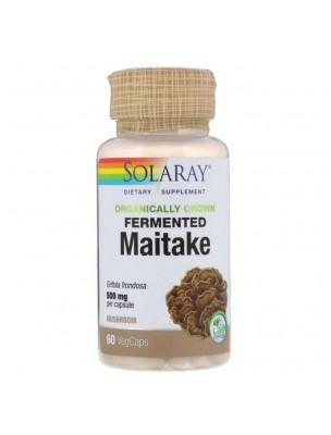 Maitake fermenté - Champignon Immunité 60 capsules - Solaray