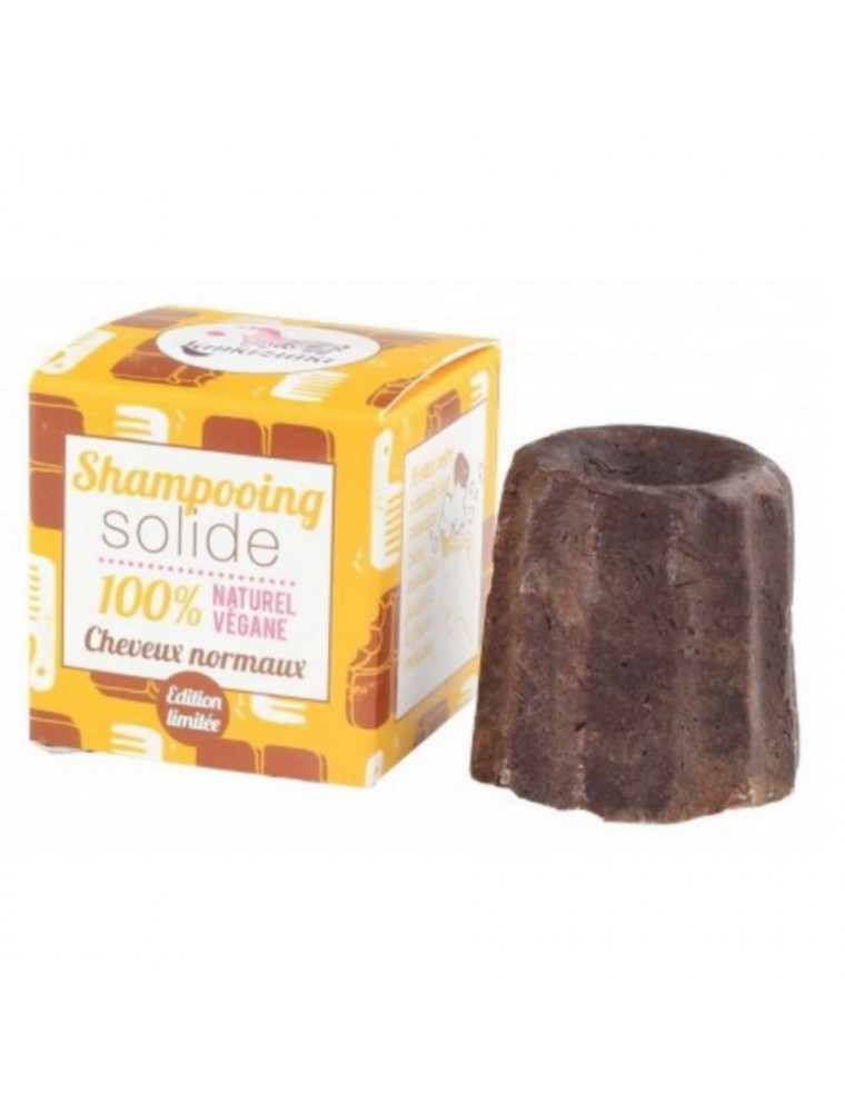 Shampoing solide pour cheveux normaux Vegan - Cacao 55 grammes - Lamazuna