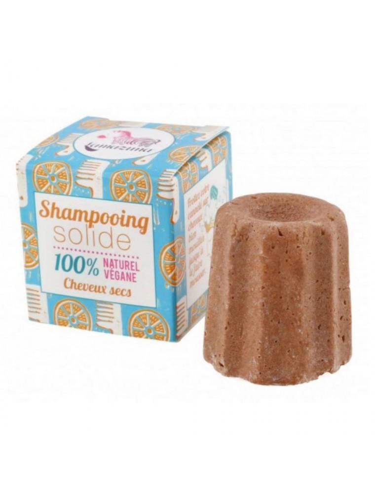 Shampoing solide pour cheveux secs Vegan - Orange Argan 55 grammes - Lamazuna