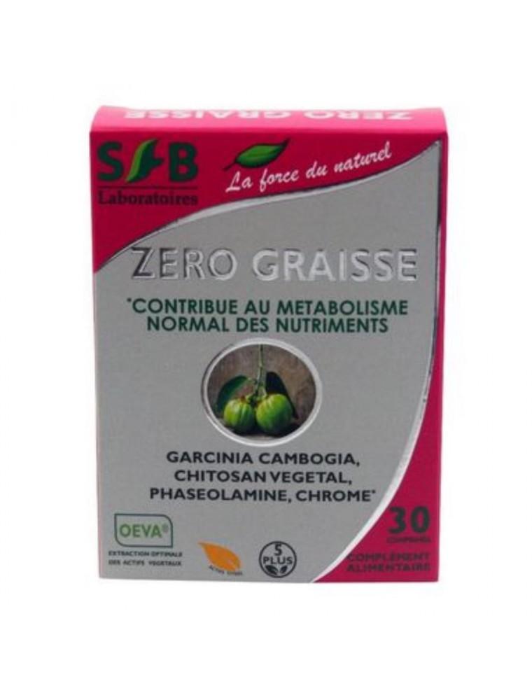 Zéro Graisse - Perte de poids 30 gélules - SFB Laboratoires
