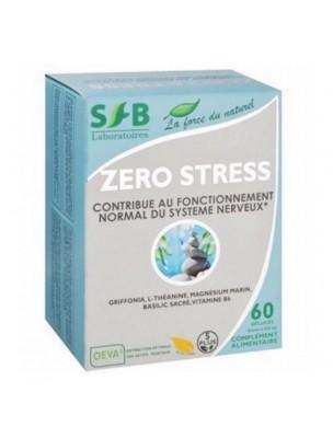 Zéro stress - Stress et fatigue 60 gélules - SFB Laboratoires