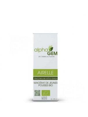 Airelle Macérat de jeunes pousses Bio - Vaccinium vitis idaea 50 ml - Alphagem