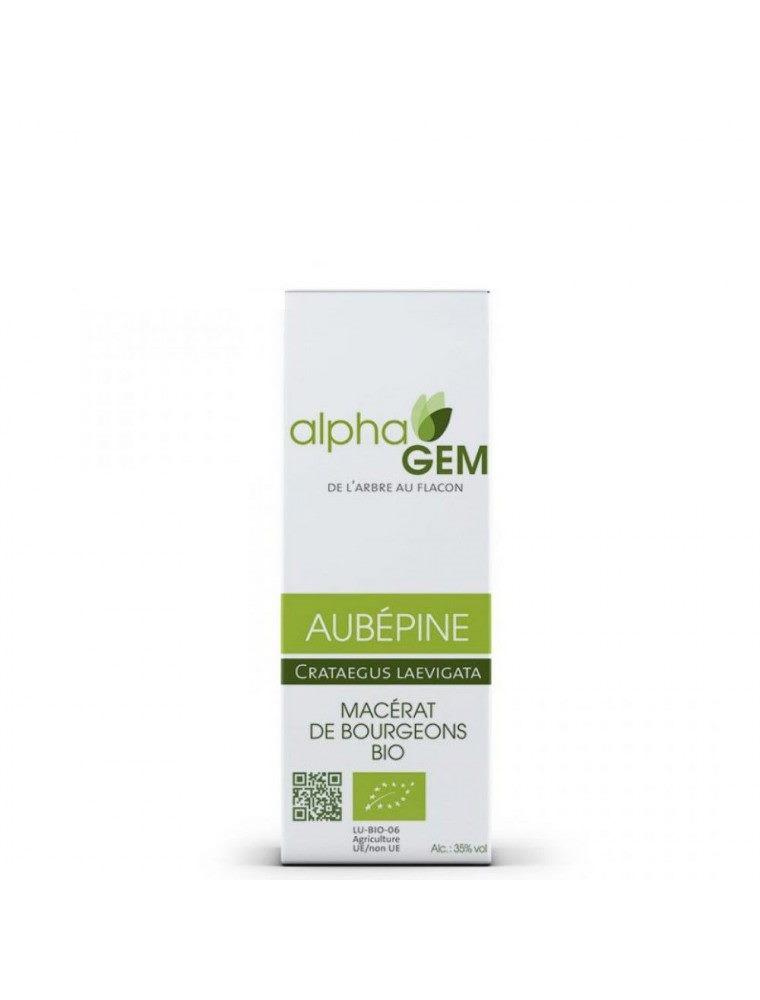 Aubépine Macérat de bourgeons Bio - Crateagus laevigata 50 ml - Alphagem