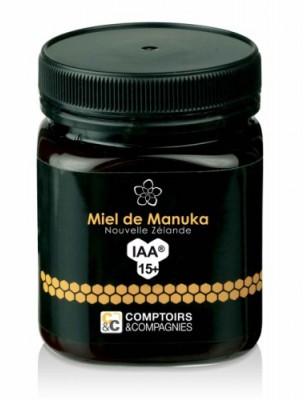 Miel de Manuka 15+ - Sans pesticides 250g - Comptoirs et Compagnies
