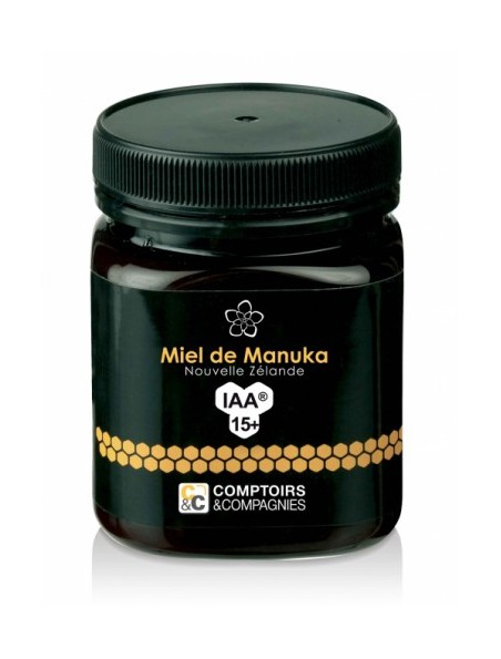 Miel de Manuka 15+ - Sans pesticides - 250g