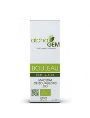 Bouleau Macérat de bourgeons Bio - Betula alba 15 ml - Alphagem