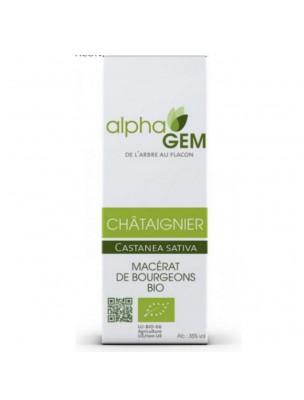 Chataîgnier Macérat de bourgeons Bio - Castanea sativa 15 ml - Alphagem