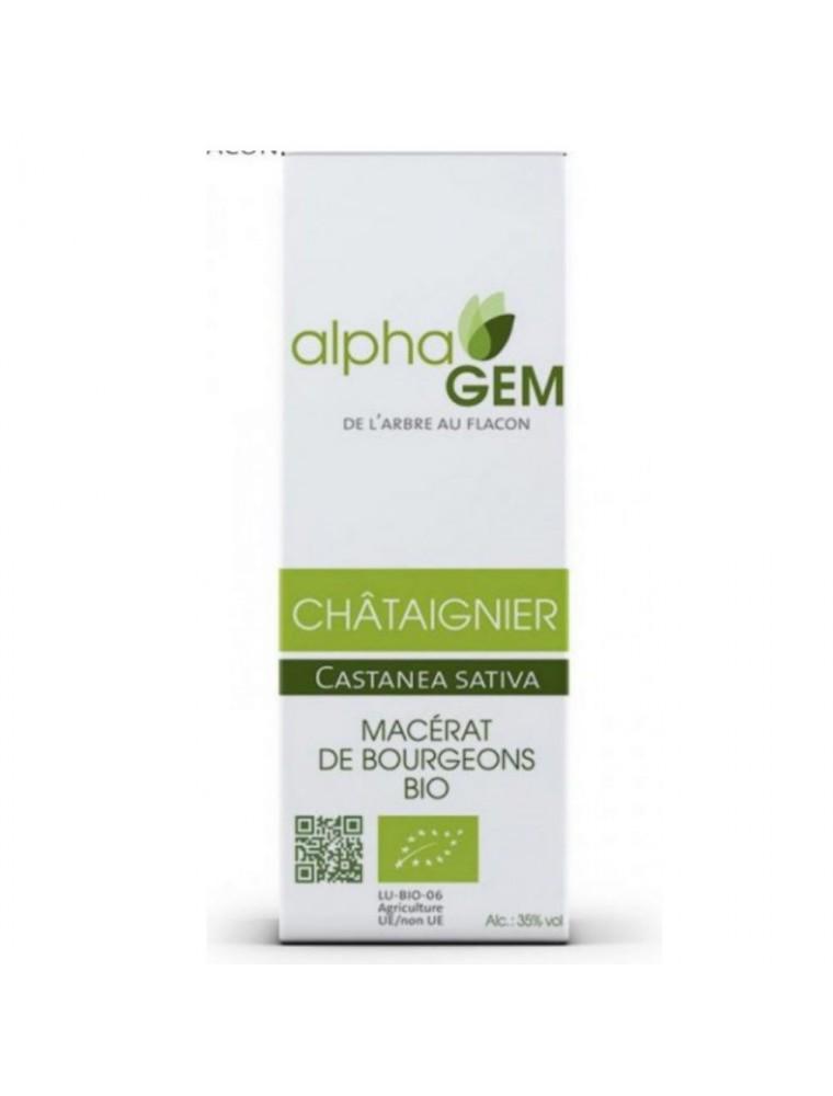 Chataîgnier Macérat de bourgeons Bio - Castanea sativa 50 ml - Alphagem