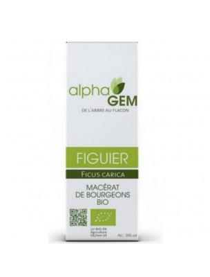 Figuier Macérat de bourgeons Bio - Ficus carica 50 ml - Alphagem