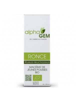Ronce Macérat de jeunes pousses Bio - Rubus fructicosus 50 ml - Alphagem
