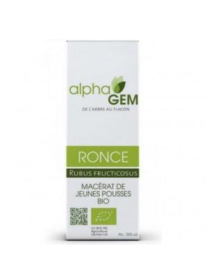 Ronce Macérat de jeunes pousses Bio - Rubus fructicosus 15 ml - Alphagem