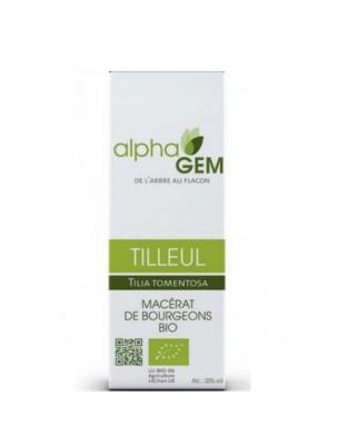 Tilleul Macérat de bourgeons Bio - Tilia tomentosa 15 ml - Alphagem