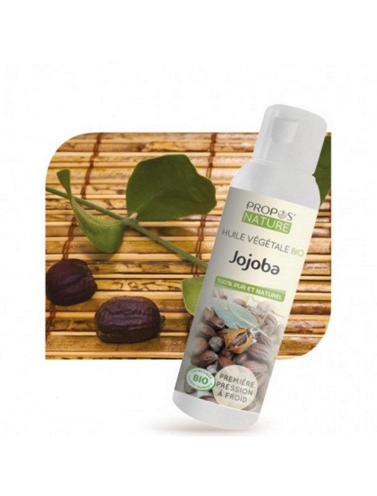 Jojoba Bio - Huile végétale de Simmondsia chinensis 100 ml - Propos Nature