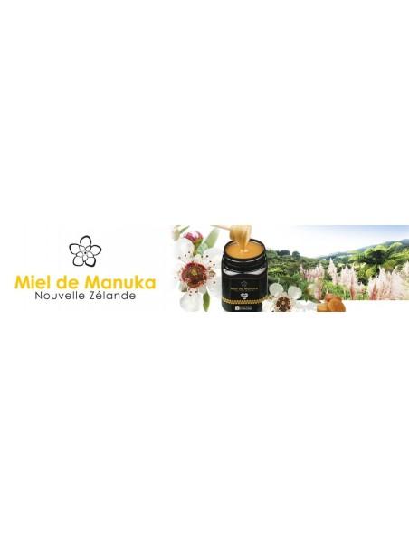 Soin des lèvres au miel de Manuka - Réparation extrême, bio - 15 ml