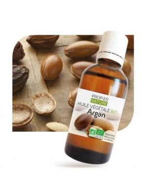 Argan Bio - Huile végétale d'Argania spinosa 50 ml - Propos Nature
