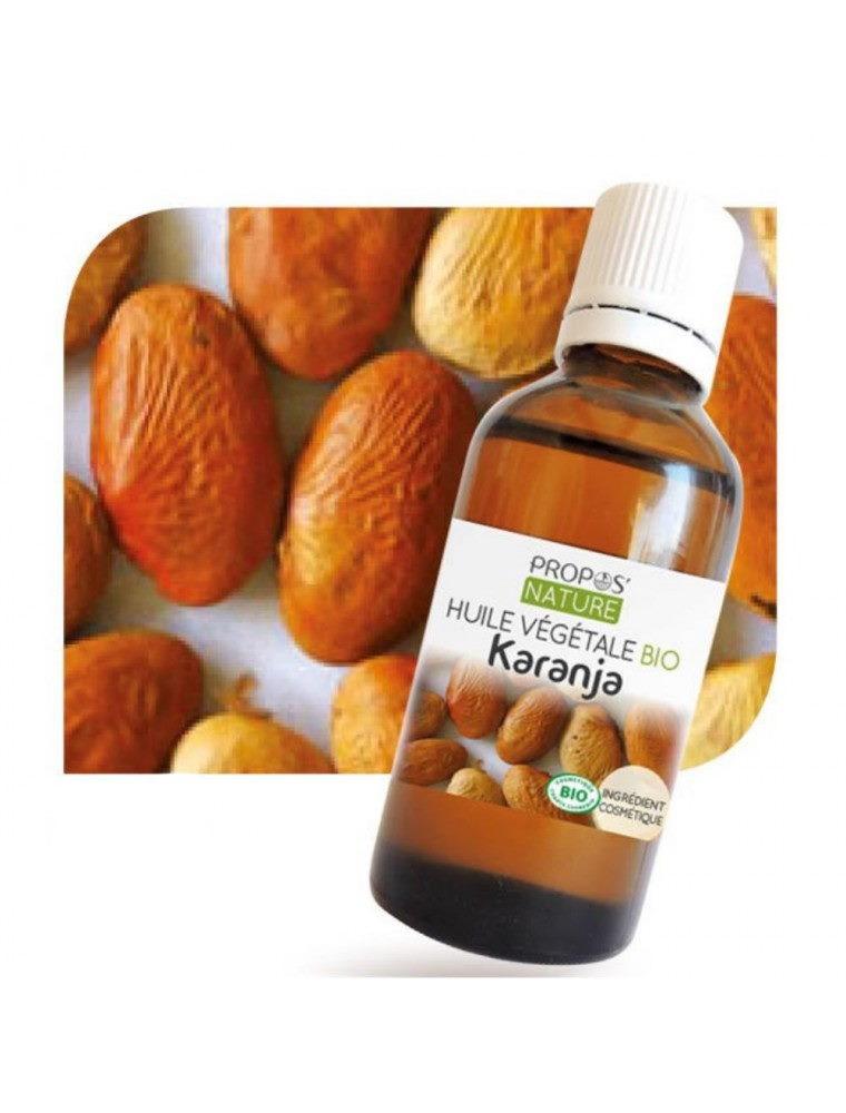 Karanja Bio - Huile végétale de Pangamia glabra 50 ml - Propos Nature