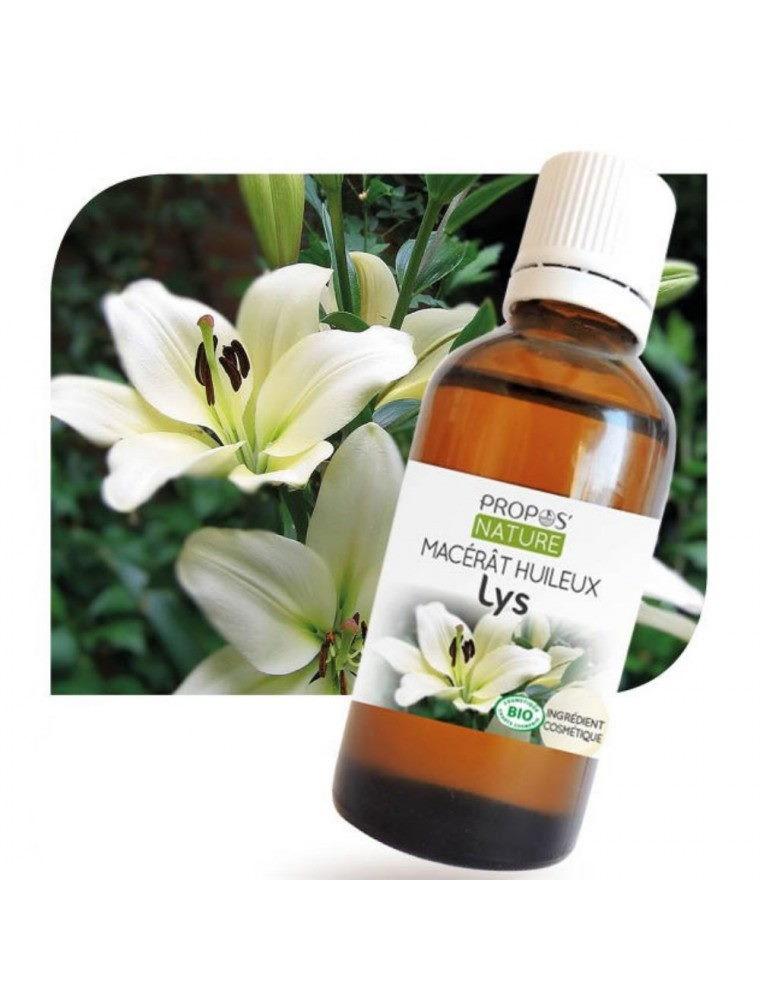 Lys Bio - Macérât huileux de Lilium candidum 50 ml - Propos Nature