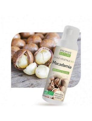 Macadamia Bio - Huile végétale de Macadamia ternifolia 100 ml - Propos Nature