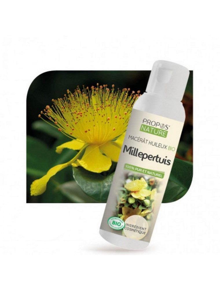 Millepertuis Bio - Macérât huileux d'Hypericum perforatum 100 ml - Propos Nature