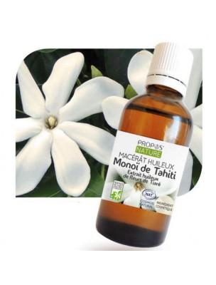 Monoï de Tahiti A.O.Brut - Macérât huileux de Gardenia tahitensis 50 ml - Propos Nature