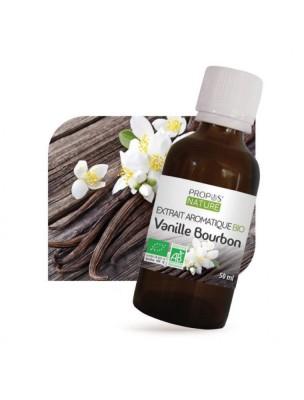 Vanille Bourbon Bio - Extrait aromatique 50ml - Propos Nature