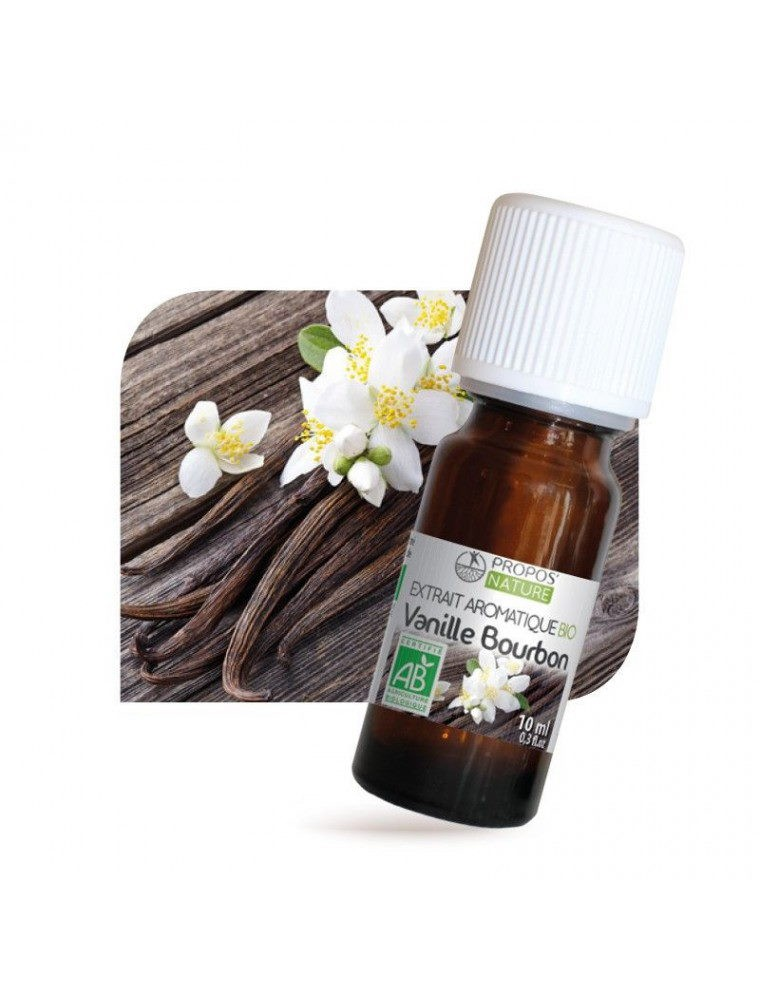 Vanille Bourbon Bio - Extrait aromatique 10ml - Propos Nature