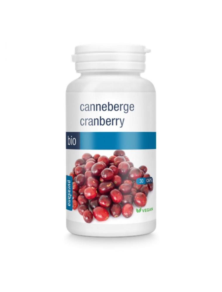 Canneberge Bio - Troubles urinaires 30 gélules - Purasana