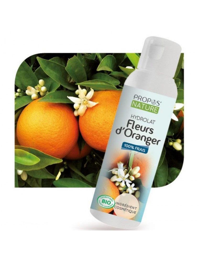 Fleur d'Oranger Bio - Hydrolat de Citrus aurantium amara 100 ml - Propos Nature