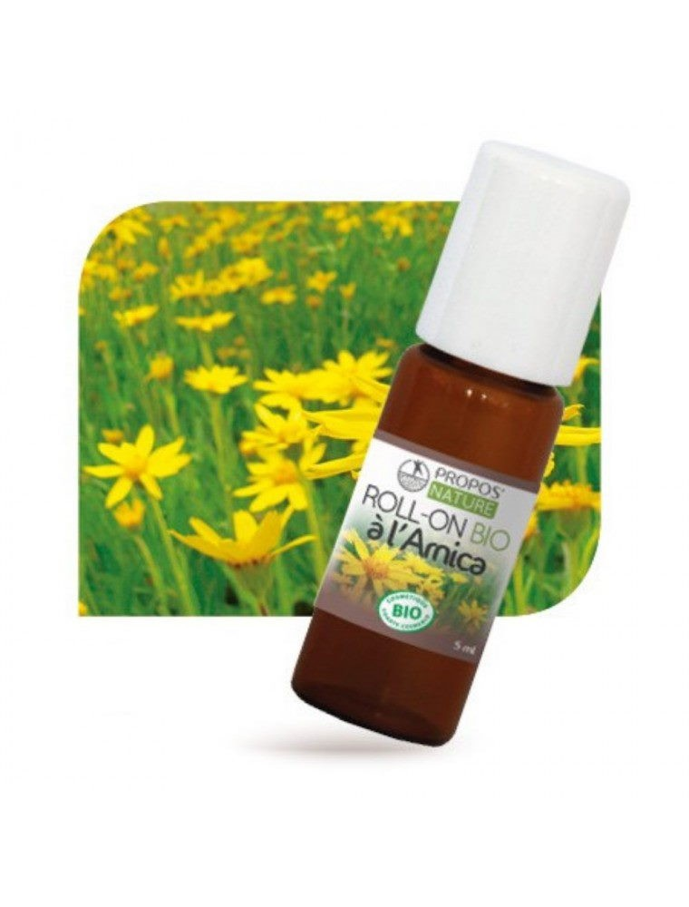 Roll-on à l'Arnica Bio - Visage & Corps 100 ml - Propos Nature
