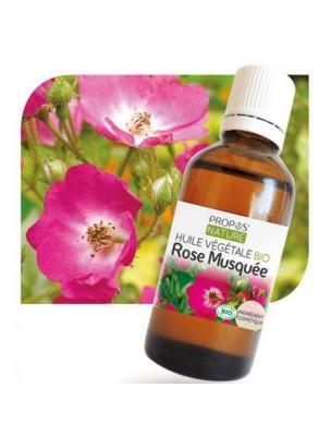 Rose musquée Bio - Huile végétale de Rosa rubiginosa 50 ml - Propos Nature