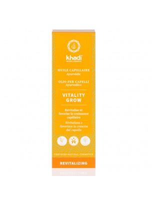 Huile de Soin capillaire - Vitality Grow 50 ml - Khadi