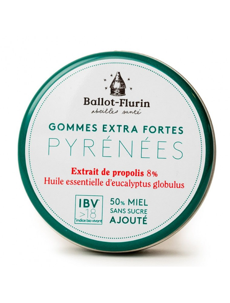 Gommes Bienfaitrices des Pyrénées Bio - Action purifiante & tonique 30g - Ballot-Flurin